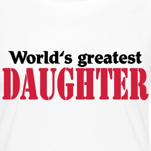 World's greatest Daughter Long Sleeve Shirts - Women's Premium Longsleeve Shirt