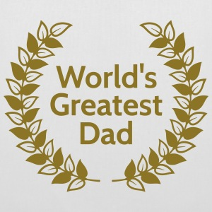 Greatest Dad greatest dad Borse & zaini - Borsa di stoffa