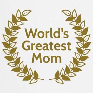 Greatest Mom plus grande maman Tabliers - Tablier de cuisine