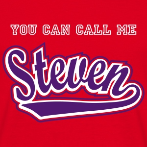 Steven - T-shirt personalised with your name T-Shirts - Men's T-Shirt