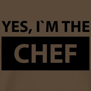 yes i´m the chef T-Shirts - Männer Premium T-Shirt