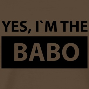 yes i´m the babo T-Shirts - Männer Premium T-Shirt