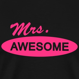 mrs. awesome T-Shirts - Männer Premium T-Shirt