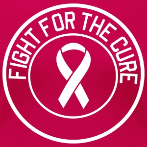 Fight for the Cure Ribbon T-Shirts - Women's Premium T-Shirt