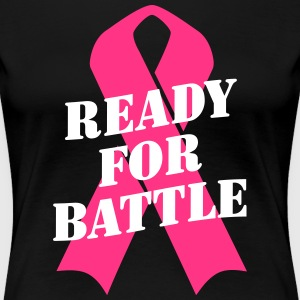 Ready for Battle Ribbon T-Shirts - Women's Premium T-Shirt