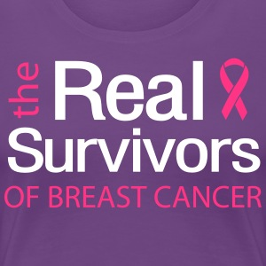 The Real Survivors of Breast Cancer T-Shirts - Women's Premium T-Shirt