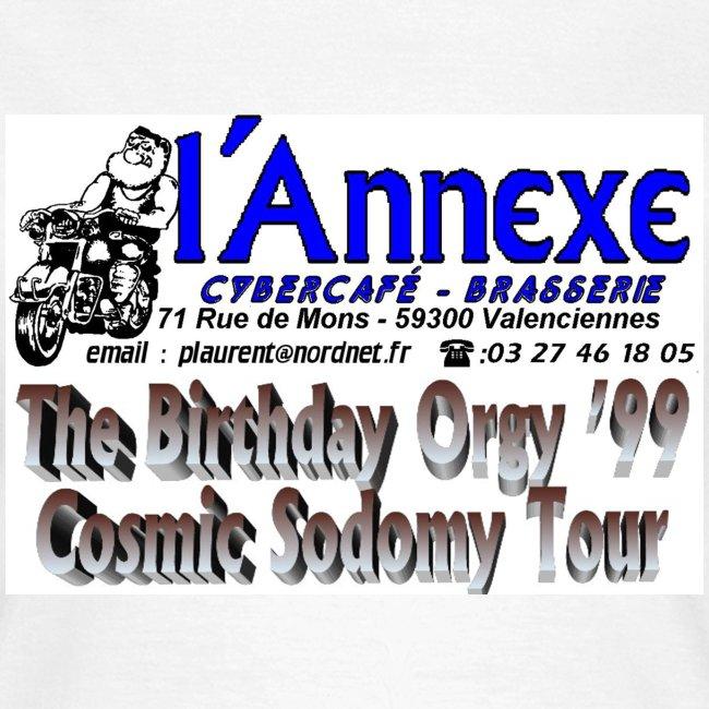 T Shirt Femme du Cosmic Sodomy Tour