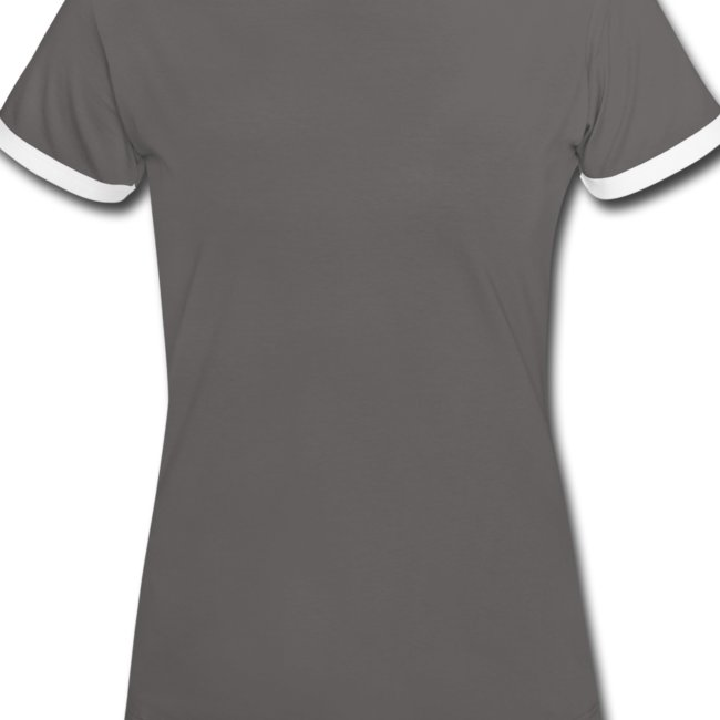 Kontrast T-shirt Dam
