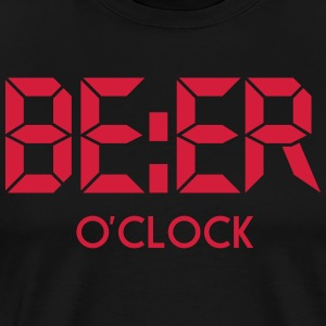 Beer O'clock T-Shirts - Men's Premium T-Shirt