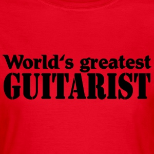 World's greatest Guitarist T-Shirts - Women's T-Shirt