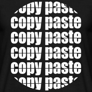 Copy Paste T-Shirts - Männer T-Shirt