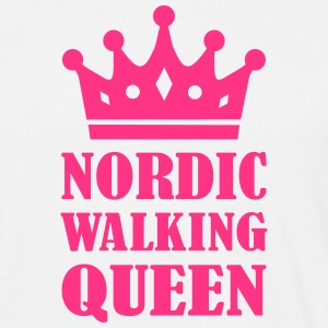 Nordic Walking Queen T-Shirts - Männer T-Shirt