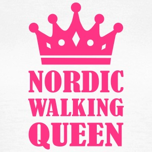 Nordic Walking Queen T-Shirts - Frauen T-Shirt