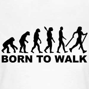 Evolution Nordic Walking T-Shirts - Frauen T-Shirt