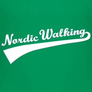 Nordic Walking T-Shirts - Kinder Premium T-Shirt