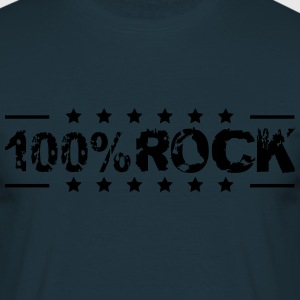 100% Rock Stempel Style T-Shirts - Men's T-Shirt