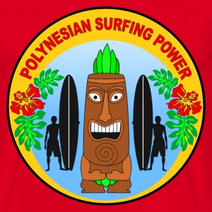 polynesian surfing power T-Shirts - Men's T-Shirt