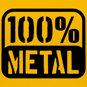 100% Metal Design T-Shirts - Women's Premium T-Shirt