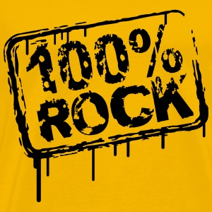 100% Rock Stempel Graffiti T-Shirts - Men's Premium T-Shirt