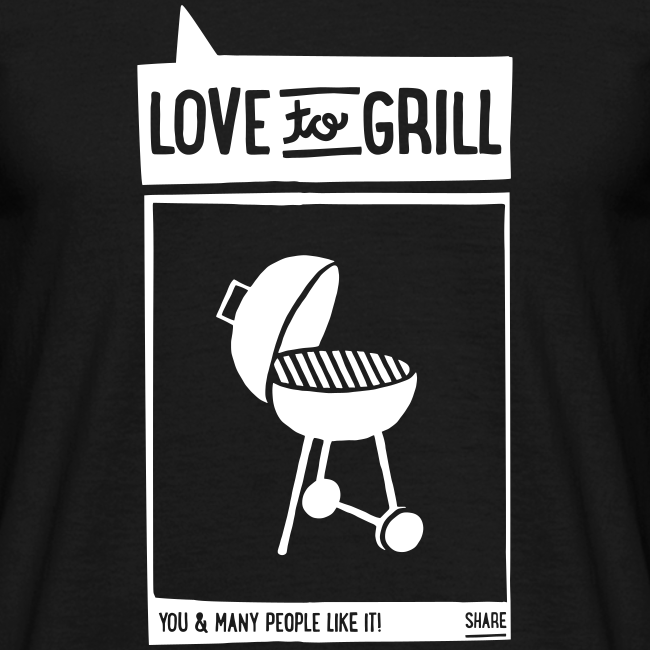 love to grill (1c) - shirt