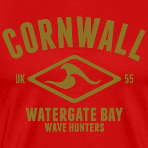 CORNWALL WATERGATE BAY T-Shirts - Men's Premium T-Shirt