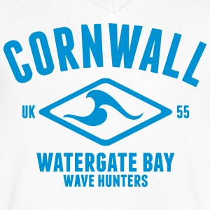 CORNWALL WATERGATE BAY T-Shirts - Men's V-Neck T-Shirt