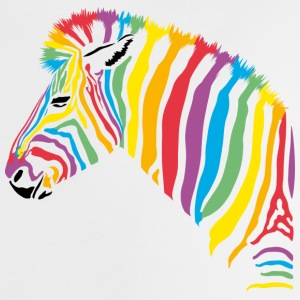 Rainbow Zebra Kids - Baby T-Shirt