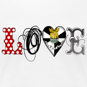 Love Lisboa Black - Frauen Premium T-Shirt