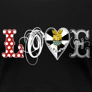 Love Lisboa White - Frauen Premium T-Shirt