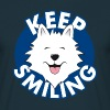 Keep smiling - T-shirt Homme