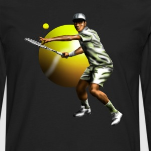 tennis Long sleeve shirts - Men's Premium Longsleeve Shirt