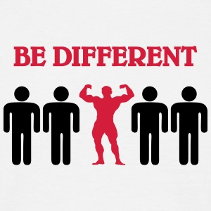 Be different T-shirts - Mannen T-shirt