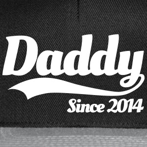 Daddy Since 2014 Caps & Hats - Snapback Cap