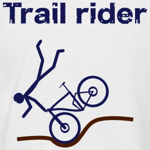 Trail rider T-Shirts - Männer Baseball-T-Shirt