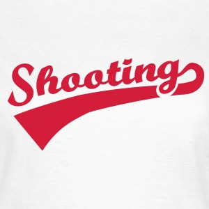 Shooting T-Shirts - Frauen T-Shirt
