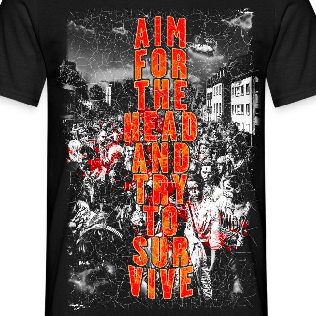 ZOMBIES: aim for the head | Std.Shirt