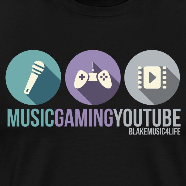 MUSICYOUTUBEGAMING Shirt