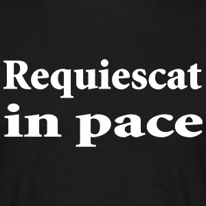 requiescat in pace Tee shirts - T-shirt Homme