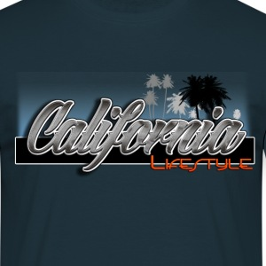 California Lifestyle Blue - T-shirt Homme