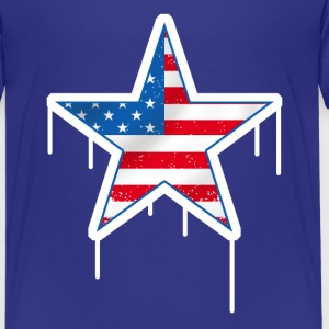 united states star Shirts - Teenage Premium T-Shirt