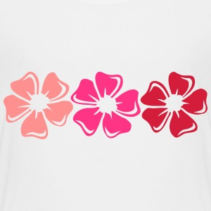 Fleurs kitsch T-Shirts - Teenager Premium T-Shirt