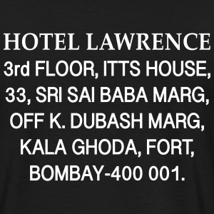 HOTEL LAWRENCE - T-shirt Homme
