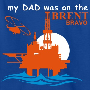 Brent Bravo Oil Rig T Shirt For Kids - Kids' T-Shirt