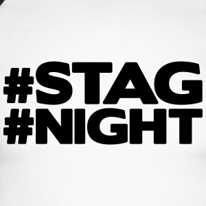 #STAG #NIGHT Tee shirts manches longues - T-shirt baseball manches longues Homme
