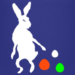 Kindershirt mit Osterhase - Teenager Premium T-Shirt