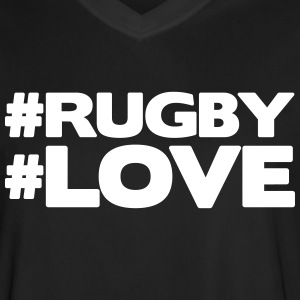 #RUGBY #LOVE Tee shirts - Maillot de football Homme