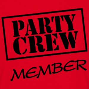 Party Crew Member T-shirts - Mannen T-shirt