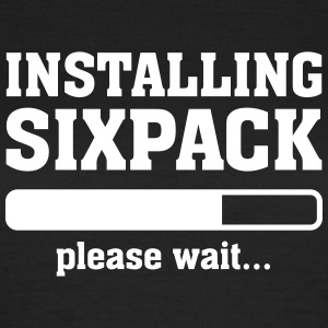 Installing Sixpack (Please wait) T-shirts - Vrouwen T-shirt