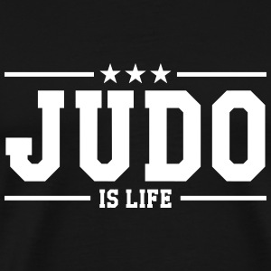 Judo is life T-skjorter - Premium T-skjorte for menn