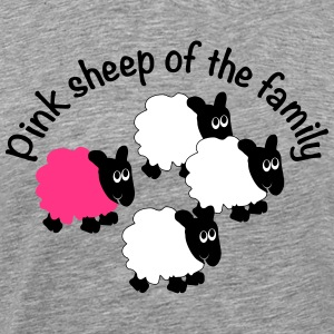 PinkSheepOfTheFamily T-Shirts - Men's Premium T-Shirt